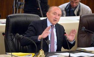 Le sénateur-maire PS de Lyon, Gérard Collomb, président de la Métropole de Lyon.