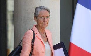 Elisabeth Borne à l'Elysée, le 3 juillet 2019.