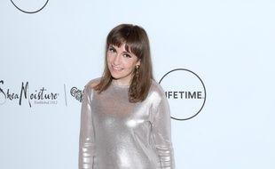 L'actrice Lena Dunham à la soirée Power Of Women du magazine Variety à New York