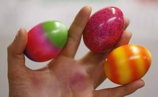 Des œufs peints