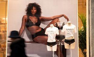 Photo d'illustration d'une boutique de lingerie.