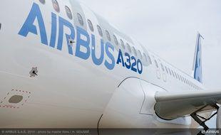 Un A320 néo, avions phare d'Airbus.