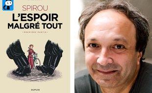 Emile Bravo est en sélection officielle au festival d'Angoulême pour son album «Spirou, l'espoir malgré tout»