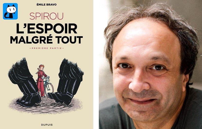 Festival d'Angoulême: Posez vos questions à Emile Bravo, qui dessinera Spirou en direct