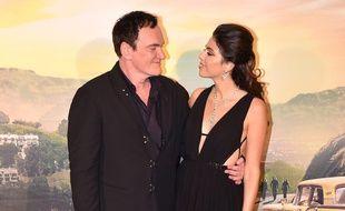 Les époux Quentin et Daniella Tarantino