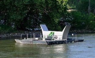 La première ferme hydrolienne fluviale, composée de 39 turbines, sera mise en service dans l'Ain en 2018.