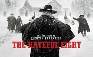 La nouvelle affiche américaine du film de Tarantino dévoilée le 23 novembre aux Etats-Unis.