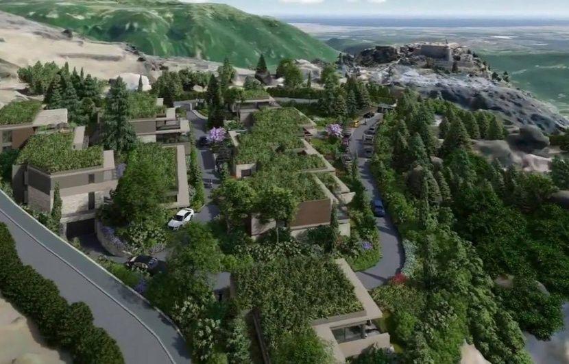 Gourdon : Des habitants font bloc face à un projet de villas californiennes