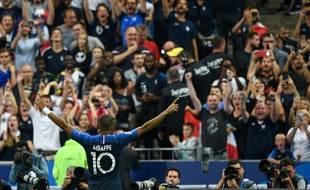 Mbappé a ouvert le score lors de France-Pays-Bas (2-1).