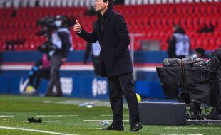 Rudi Garcia est en fin de contrat à l'OL en juin 2021.