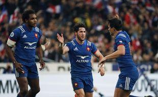 La France abattu l'Angleterre, le 10 mars 2018, au Stade de France dans le cadre du tournoi des VI Nations.