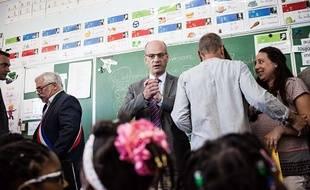 Le ministre de l'Éducation nationale Jean-Michel Blanquer.