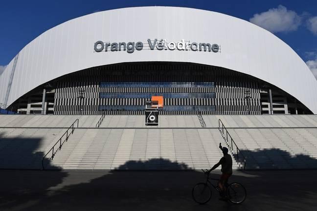 Le Stade Vélodrome est bleu, blanc... et Orange