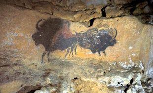 Photo de la grotte de Lascaux prise à Montignac, le 16 septembre 2010