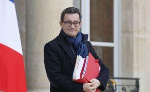Le ministre des Comptes publics Gérald Darmanin, le 21 février 2018 à Paris.