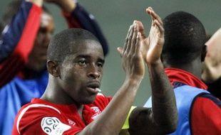 Le milieu lillois Rio Mavuba, après un match de Ligue 1 contre Saint-Etienne, le 10 mai 2011.