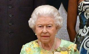 La reine Elizabeth II à la cérémonie des Queen's Young Leaders Awards le 26 juin 2018.