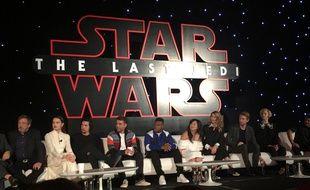 La conférence de presse de «Star Wars: Les Derniers Jedi» à Los Angeles