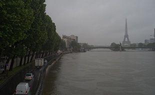 Des records de précipitations enregistrés au mois de mai à Paris