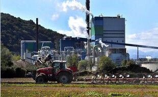 L'usine Fibre Excellence de Saint-Gaudens. Illustration.