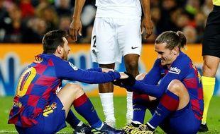 Lionel Messi et Antoine Griezmann seront les principaux atouts catalans à Naples.