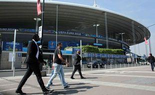 Les abords du Stade de France, en juin 2016