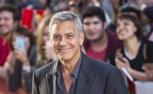 L'acteur George Clooney au TIFF