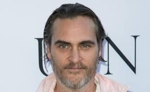 L'acteur Joaquin Phoenix à la première de Unity à Los Angeles