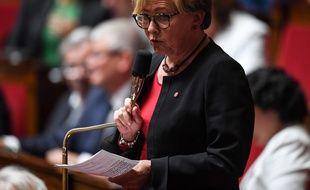 La députée Patricia Gallerneau.