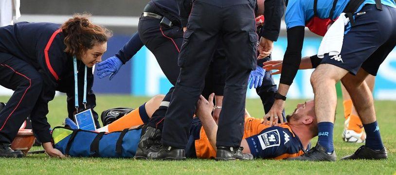 Louis Picamoles est sorti sur civière en Coupe d'Europe contre le Stade Toulousain.
