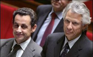 """Dominique de Villepin préside jeudi matin le 4ème Comité interministériel de contrôle de l'immigration (Cici) à Matignon, où le ministre de l'Intérieur Nicolas Sarkozy présentera son avant-projet de loi visant à privilégier une immigration """"choisie""""."""