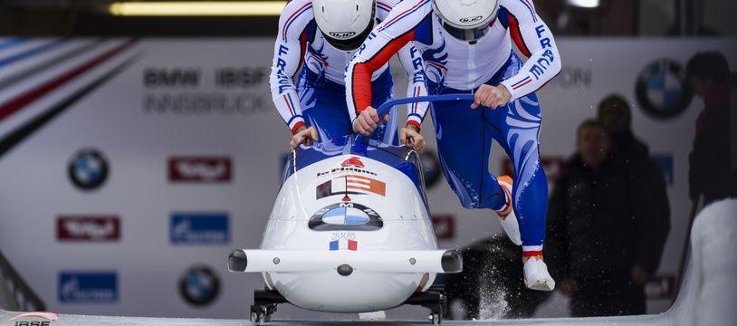 Romain Heinrich est le pilote du bob à deux français pour les JO d'hiver de Pyeongchang.