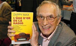 Zappy Max lors du 25e Salon du Livre à Paris en mars 2005.