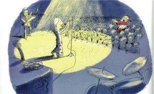 Le Père Noël préfère assister aux concerts de sa fille que chanter des cantiques.