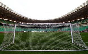 Le Basra Sports City Stadium, à Bassora, en Irak