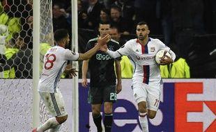 Auteur du troisième but de l'espoir pour l'OL, jeudi en demi-finale retour de Ligue Europa, Rachid Ghezzal n'est peut-être pas encore parti de Lyon.