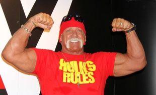 Hulk Hogan en 2015.