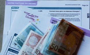 Le chèque énergie sera testé dans quatre départements français (illustration).