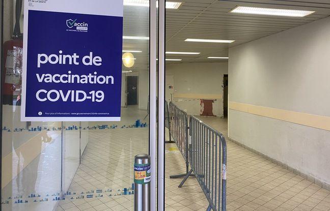 Le centre de vaccination du CHU de Bordeaux de Haut-Lévêque, à Pessac