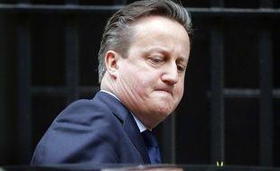 Le Premier ministre britannique David Cameron, le 23 mars 2016 à Londres.