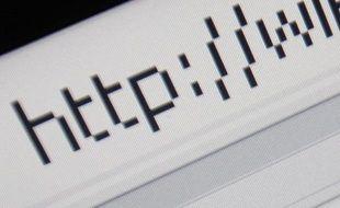 URL sur un navigateur Internet.