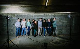L'équipe du Soixante-Quinze, un nouveau mensuel de reportage axé sur Paris.