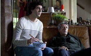 Max Boublil et Alain Chabat dans le film «Les Gamins».