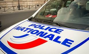 Une voiture de la police nationale. (Illustration)
