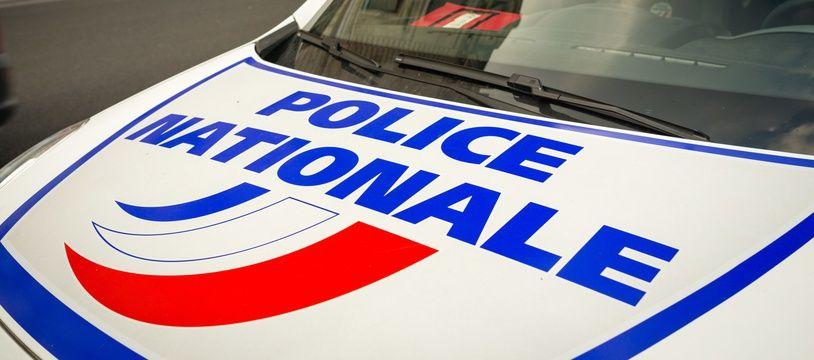 Une voiture de la police nationale (illustration).