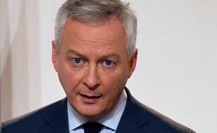Bruno Le Maire, le 12 novembre 2020 à Paris.