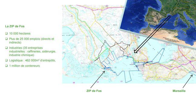 Le port de Marseille Fos en chiffres.