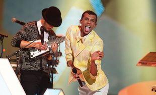 Stromae sur la scène des Victoires de la musique vendredi 13 février.
