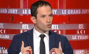 Benoît Hamon sur LCI, le 11 octobre 2015.