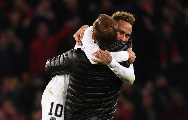 PSG: «Je le prends dans mes bras», Thomas Tuchel évoque sa relation fusionnelle avec Neymar